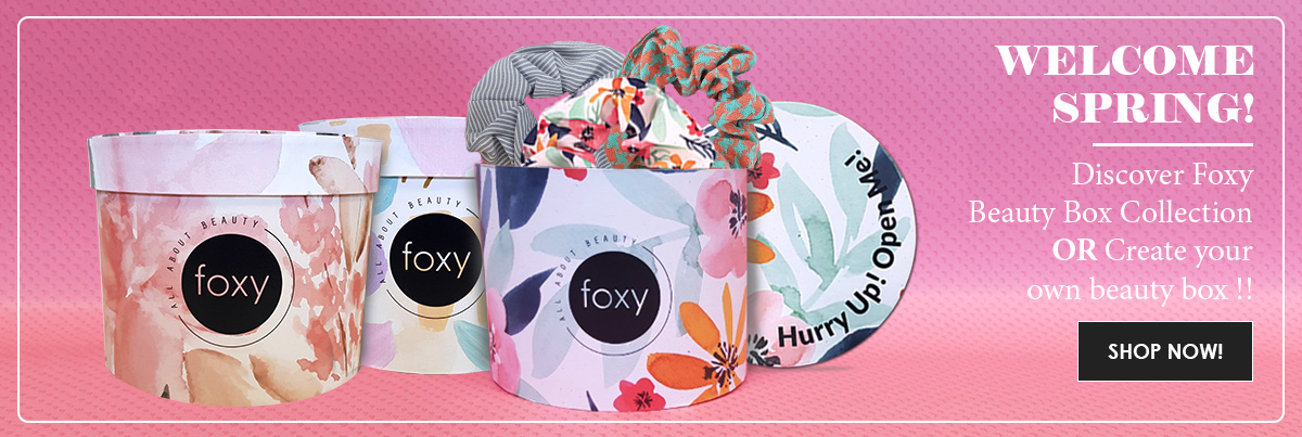 Discover Foxy Beauty Box Collection OR Create Yours