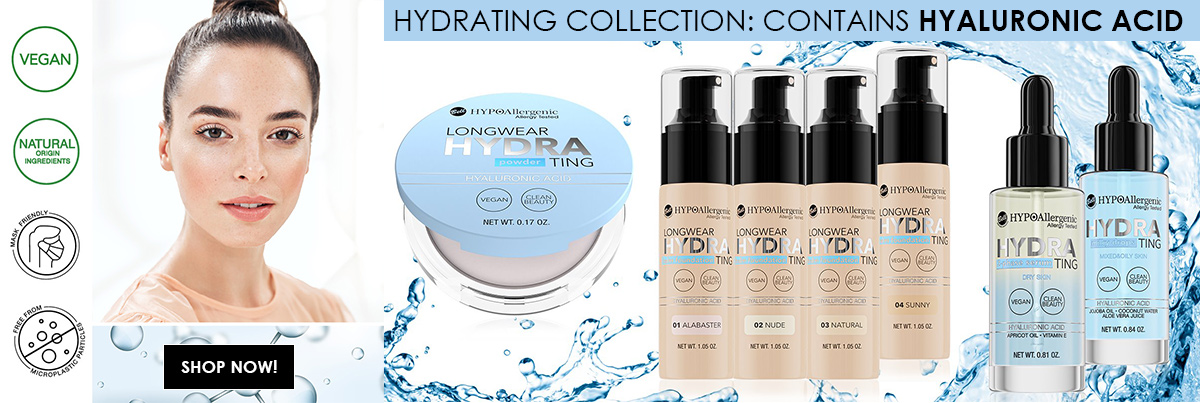 Makeup Products Bell HYPOAllergenic Hydrating Collection With Hyaluronic Acid