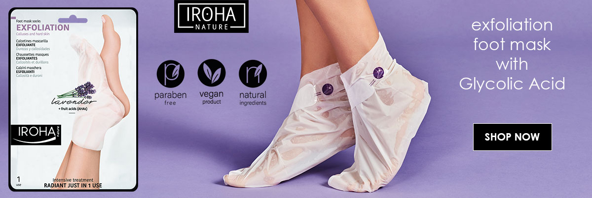 Exfoliation Tissue Foot Mask Iroha Nature