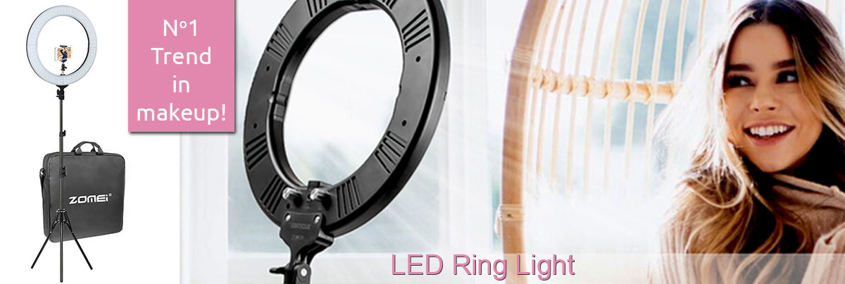 LED Ring Light For Photographers And Makeup Artists